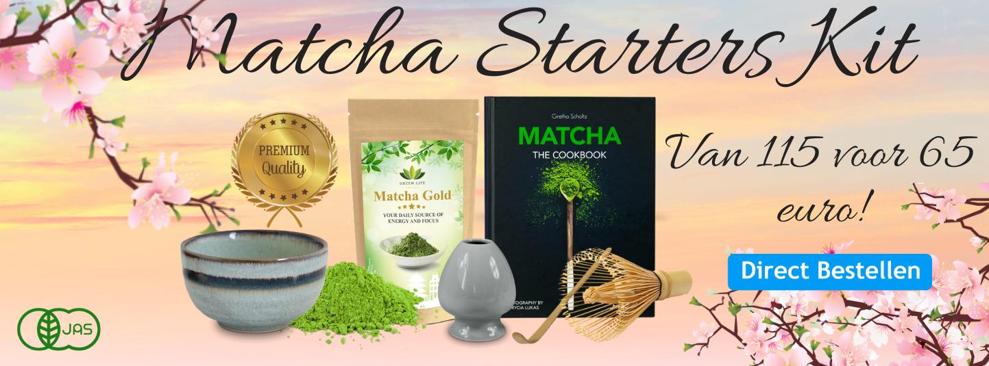 Matcha weerstandpack